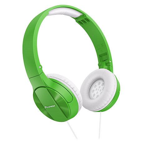 Słuchawki Pioneer SE-MJ503G zielone, odb. os. 5zł, paczkomat 9,9zł