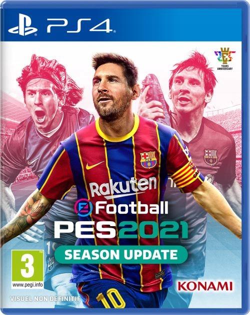 PES 2021 SEASON UPDATE PS4