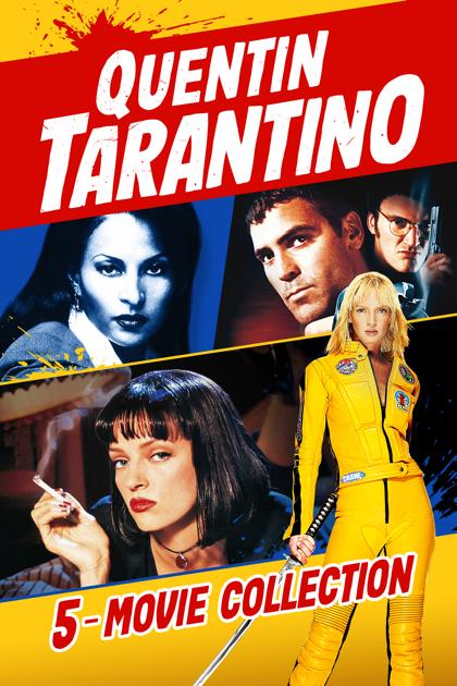 Quentin Tarantino 5-Movie Collection - iTunes, Apple TV - HD