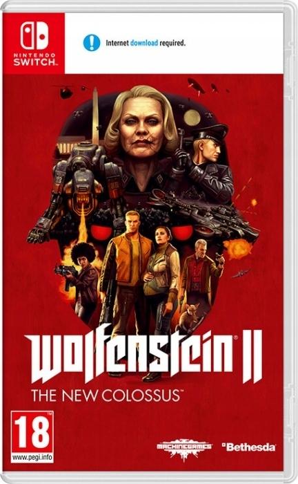 Wolfenstein II: The New Colossus SWITCH NS