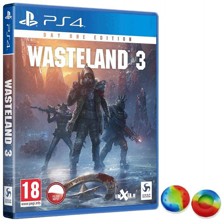 WASTELAND 3 PS4 XBOX PL + GRATIS