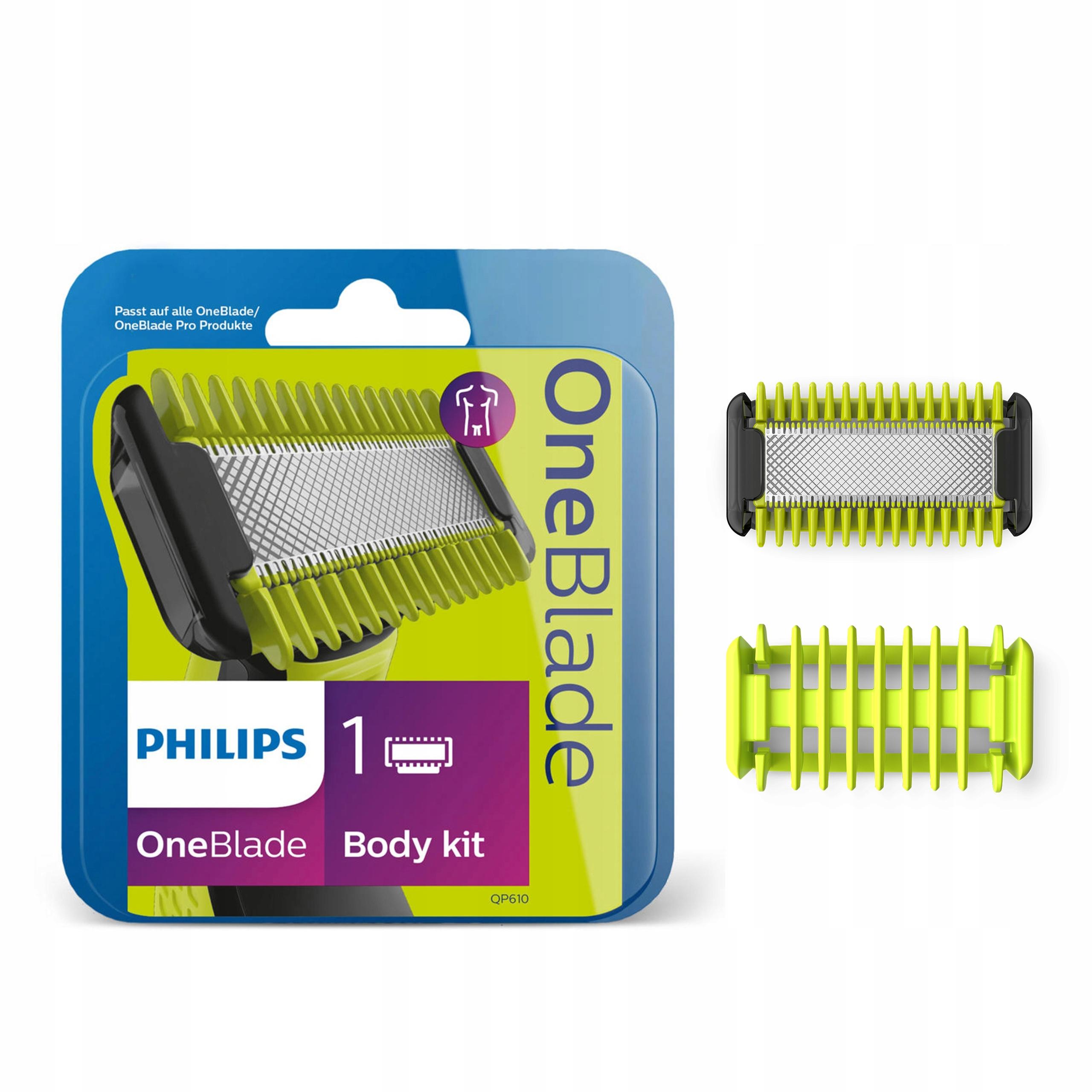 Zestaw do golenia PHILIPS OneBlade Body QP610/50 + 4 monety