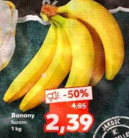 Banany 1kg. Kaufland