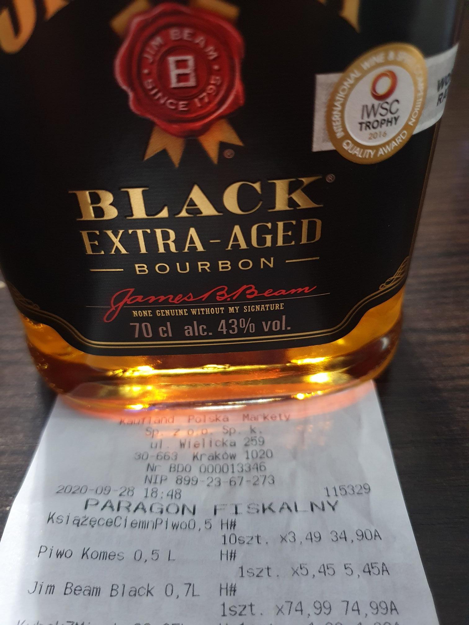 Jeam Beam Black 0,7