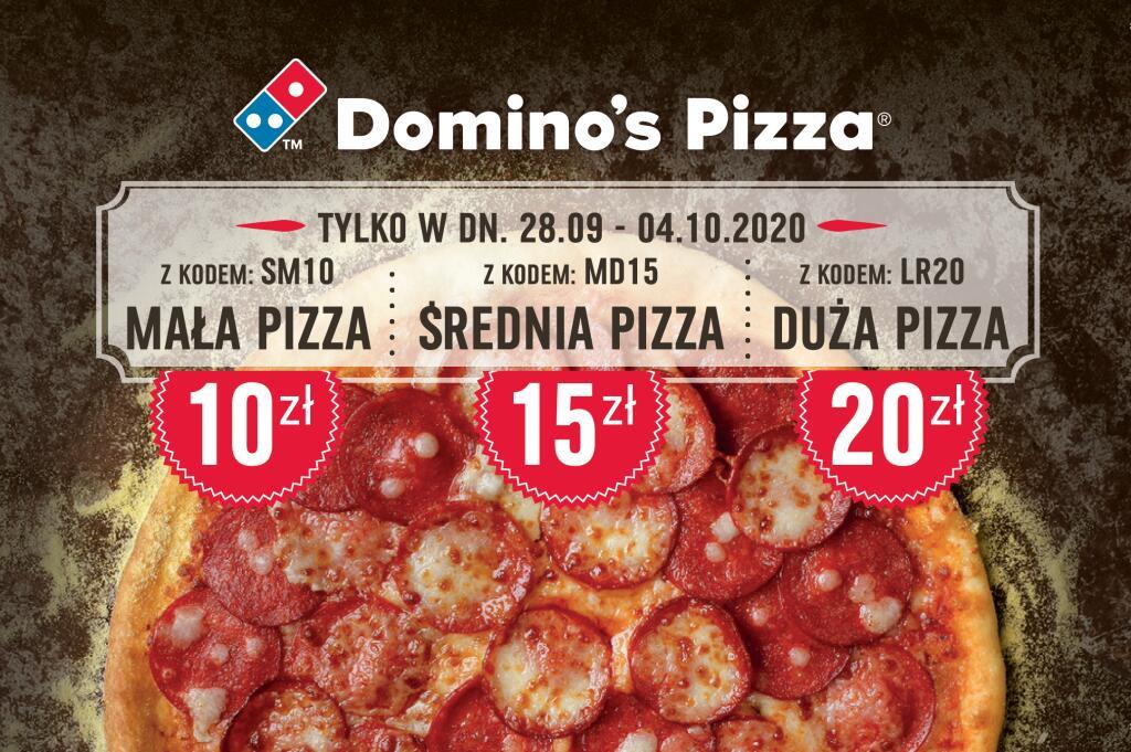 Tania pizza w Domino's Pizza