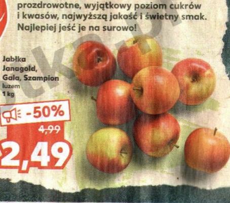 Jabłka polskie @Kaufland