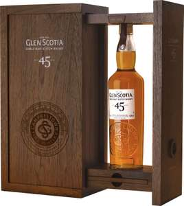 Glen Scotia 45YO, Szkocka whisky single malt, dobra berberucha