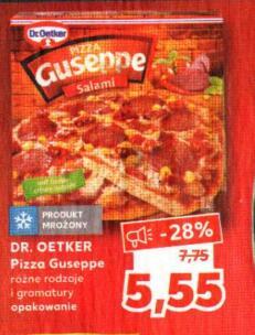Pizza Guseppe różne rodzaje @Kaulfand