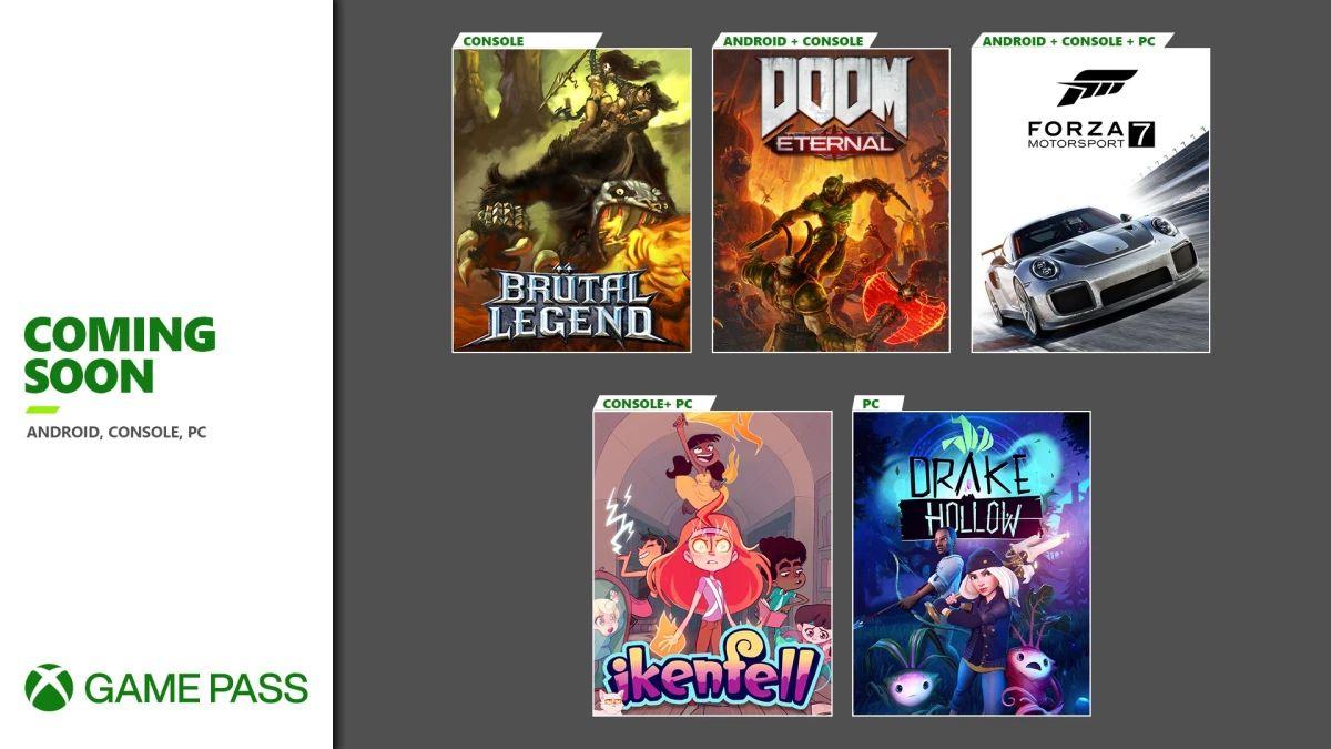 XBOX Game Pass nowe tytuły