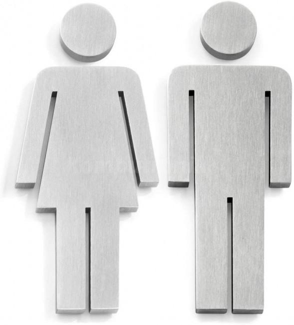 Piktogram Zack Indici 50724, kobieta mężczyzna, stal nierdzewna, odbiór osobisty 0zł