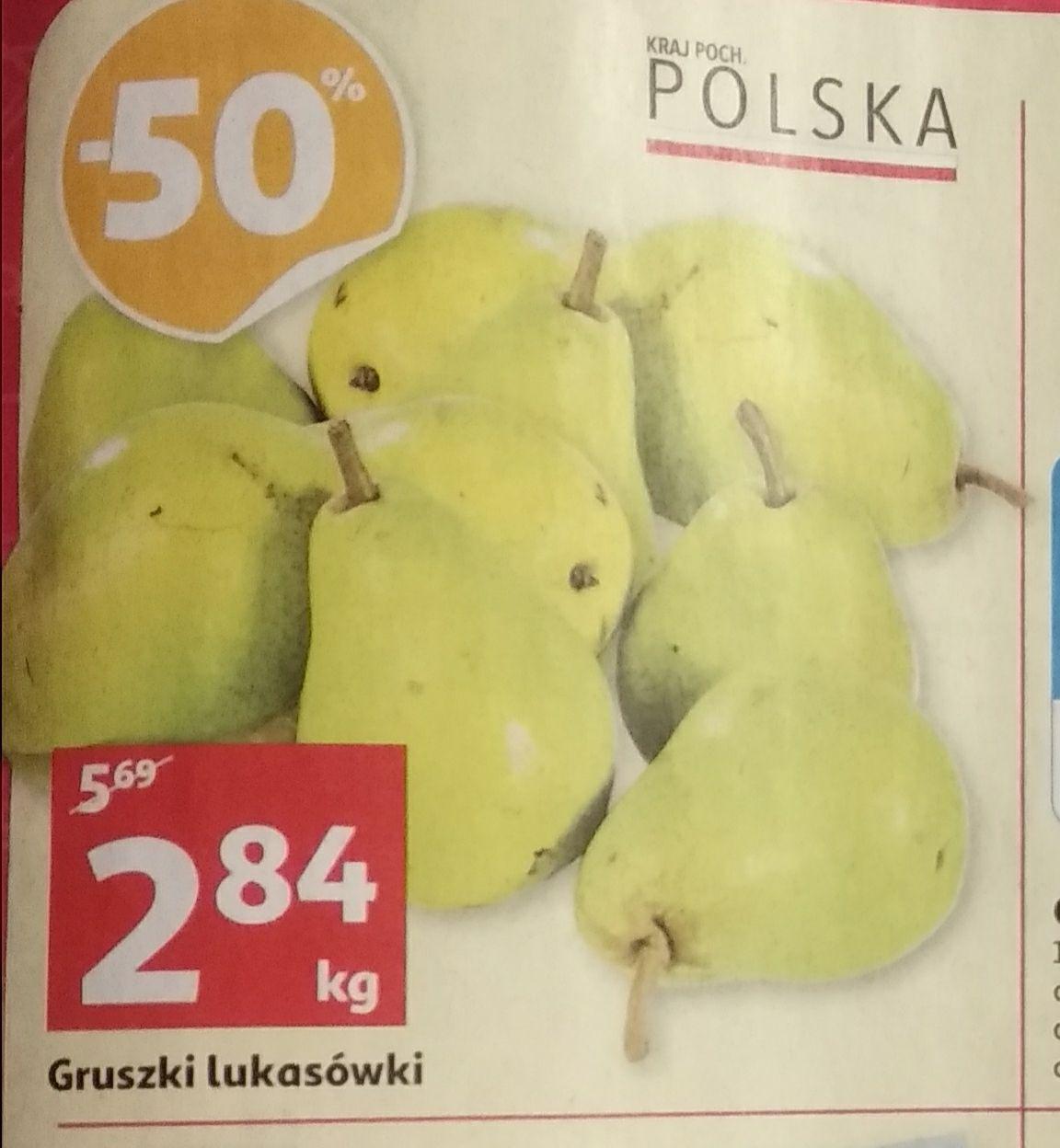 Gruszka lukasówka kg @Auchan
