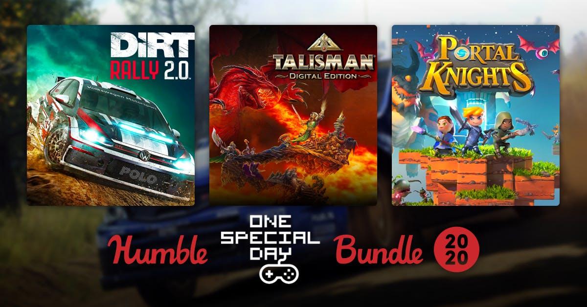 Humble One Special Day Bundle 2020 (zestaw gier za minimum €0.84) @humblebundle