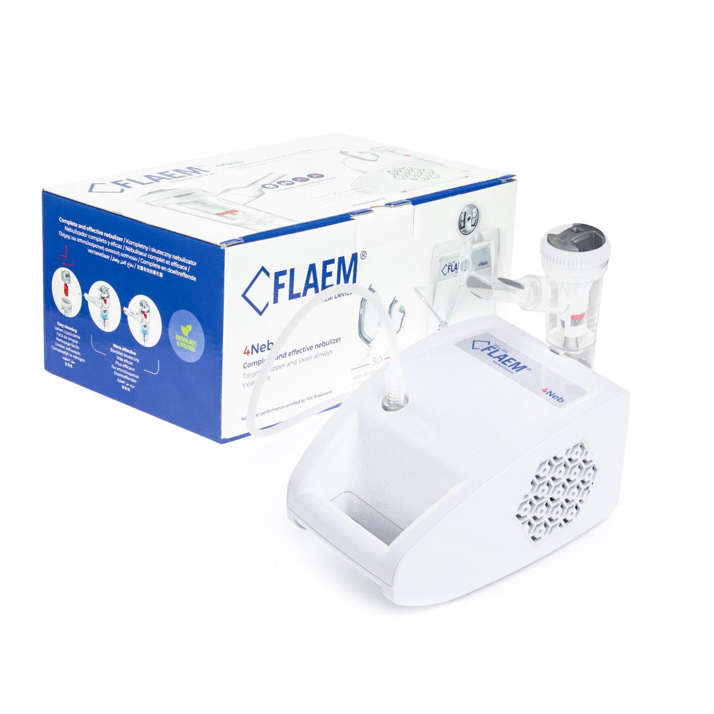 Inhalator pnematyczno-tłokowy FLAEM 4Neb Allegro Smart_week