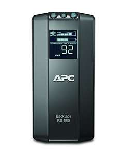 Zasilacz awaryjny APC Back-UPS RS LCD 550 Master Control BR550GI 550VA 330W - Amazon.de