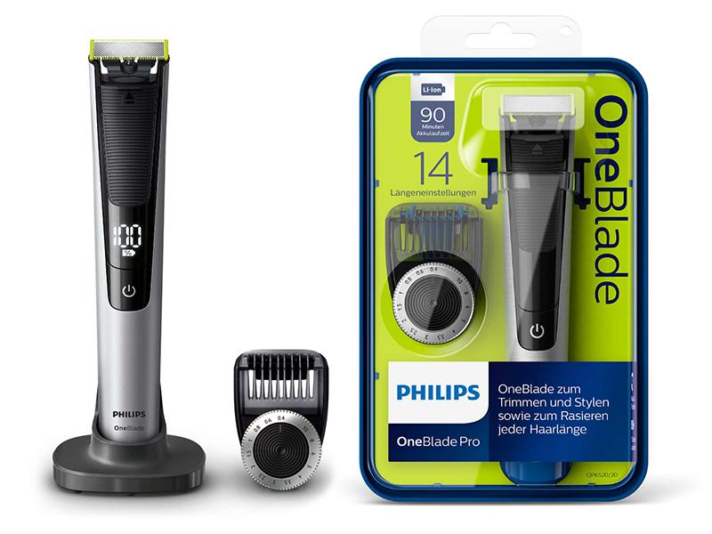 Golarka PHILIPS OneBlade Pro QP6520/20 14 długości