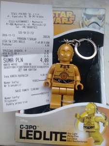 Brelok LEGO Star Wars z latarką LED w Tesco