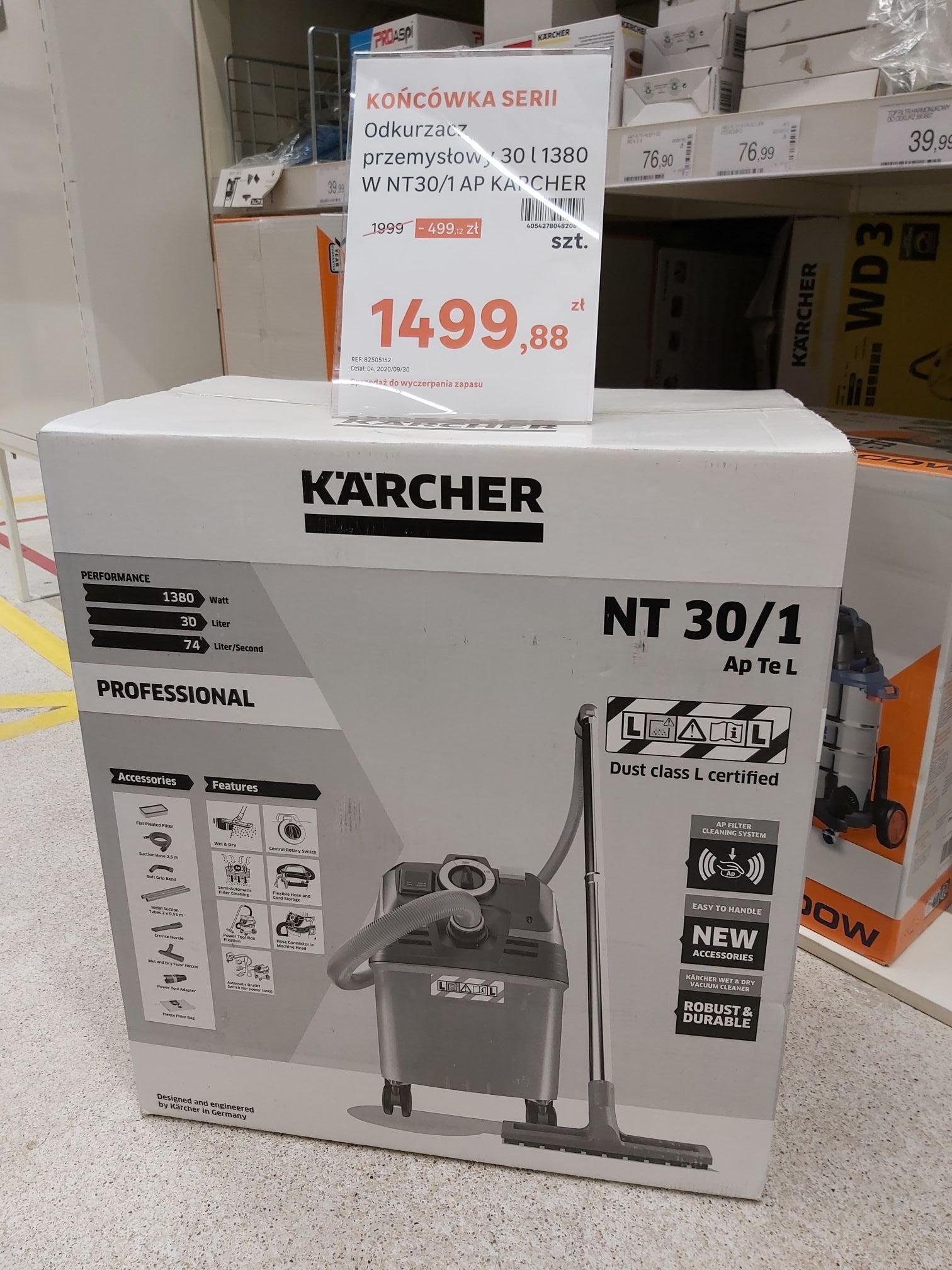 Odkurzacz Karcher NT30/1 AP 30L Leroy Merlin Mielec