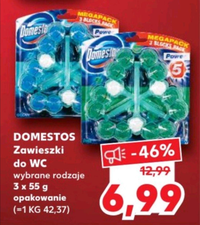 Zawieszki Domestos 3 x 55 gramów w Kauflandzie od 5 października
