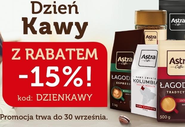 Dzień kawy (i herbaty) w sklepie internetowym Astra rabat minus 15%