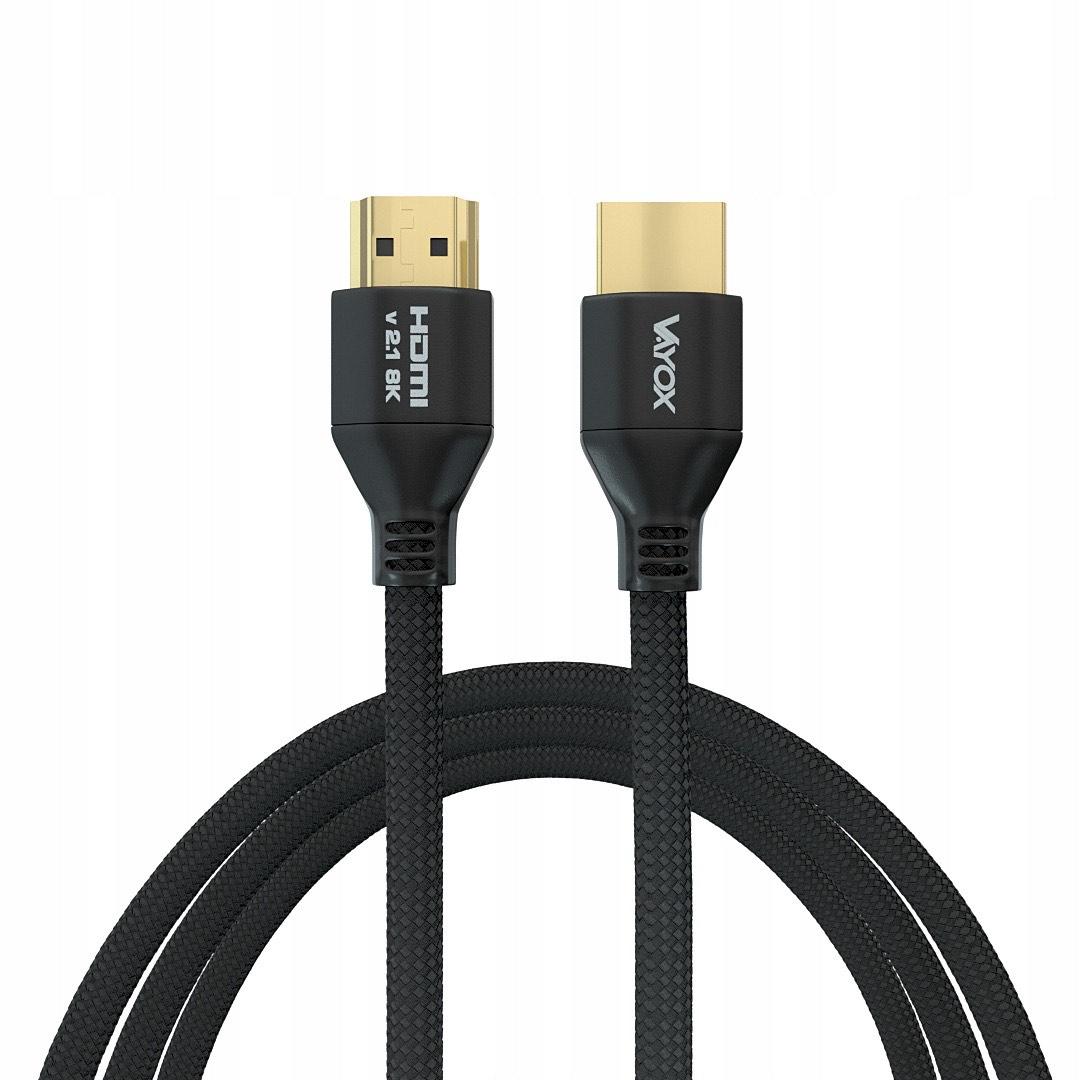 Kabel HDMI 2.1 4K 120 Hz 3 metry Allegro smart