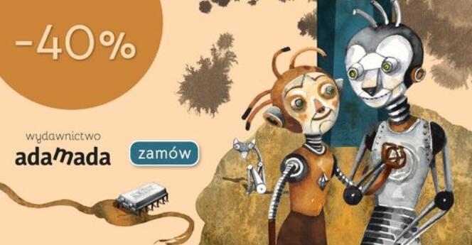 -40% na całą ofertę Wydawnictwa Adamada