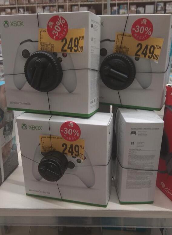 Pad Xbox One biały @Auchan