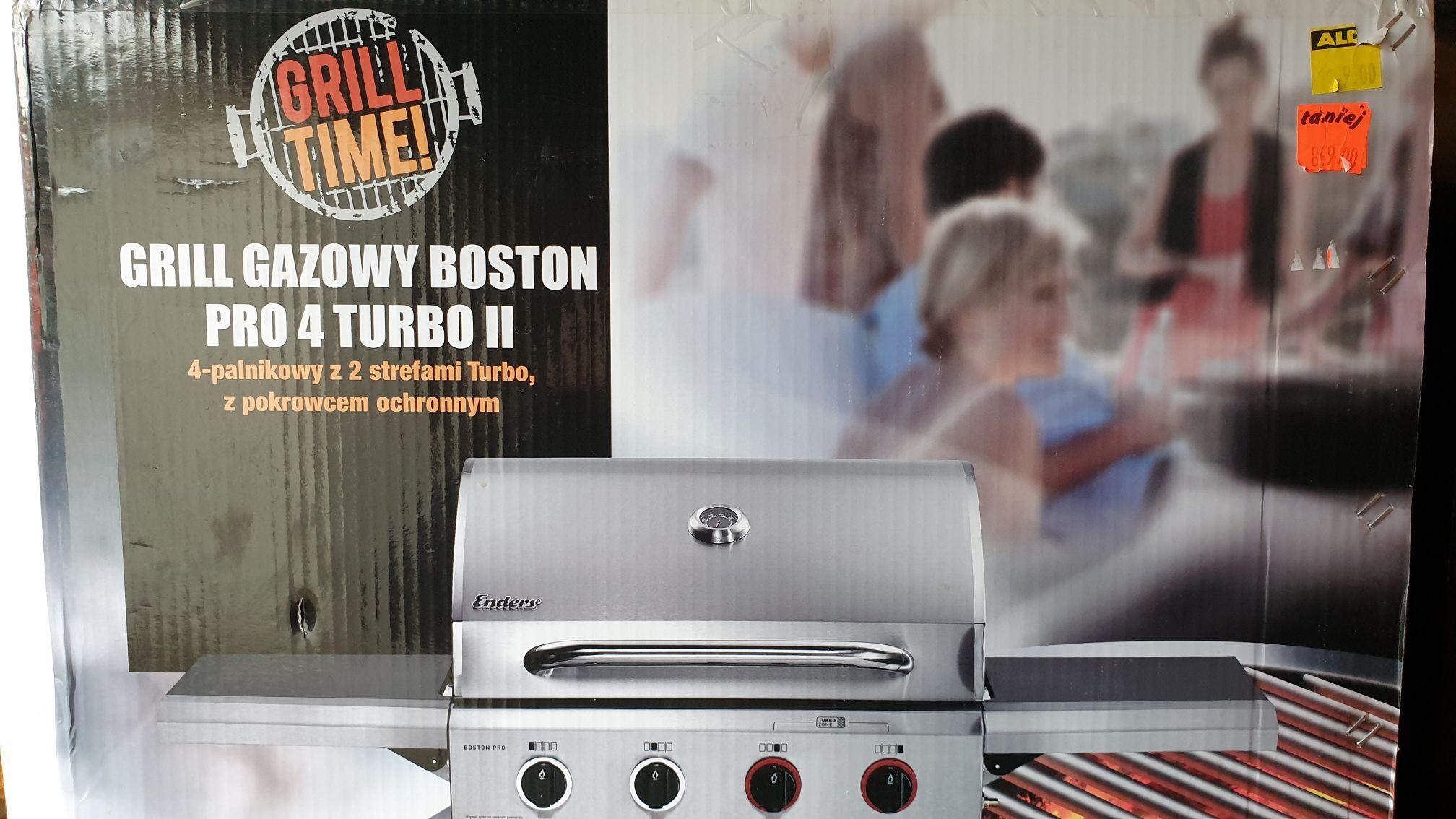 Grill gazowy Enders - Boston pro 4 turbo II