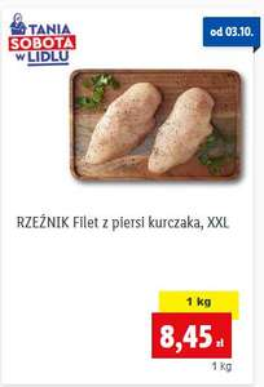 Filet z piersi kurczaka @Lidl