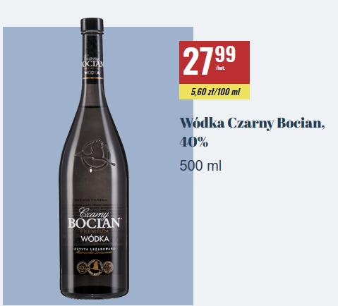 Wódka Czarny Bocian 0,5l BIEDRONKA
