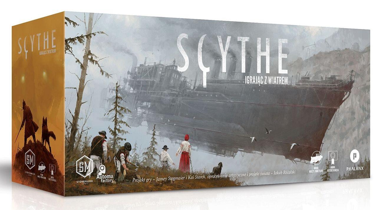 Dodatek Scythe: Igrając z Wiatrem Gra Planszowa