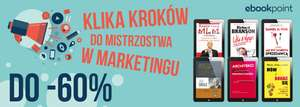 Zostań mistrzem marketingu do -60% @ ebookpoint