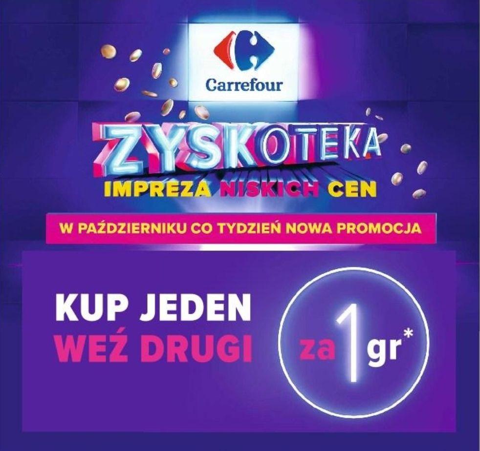 Kup jeden i weź drugi za 1 grosz - Carrefour
