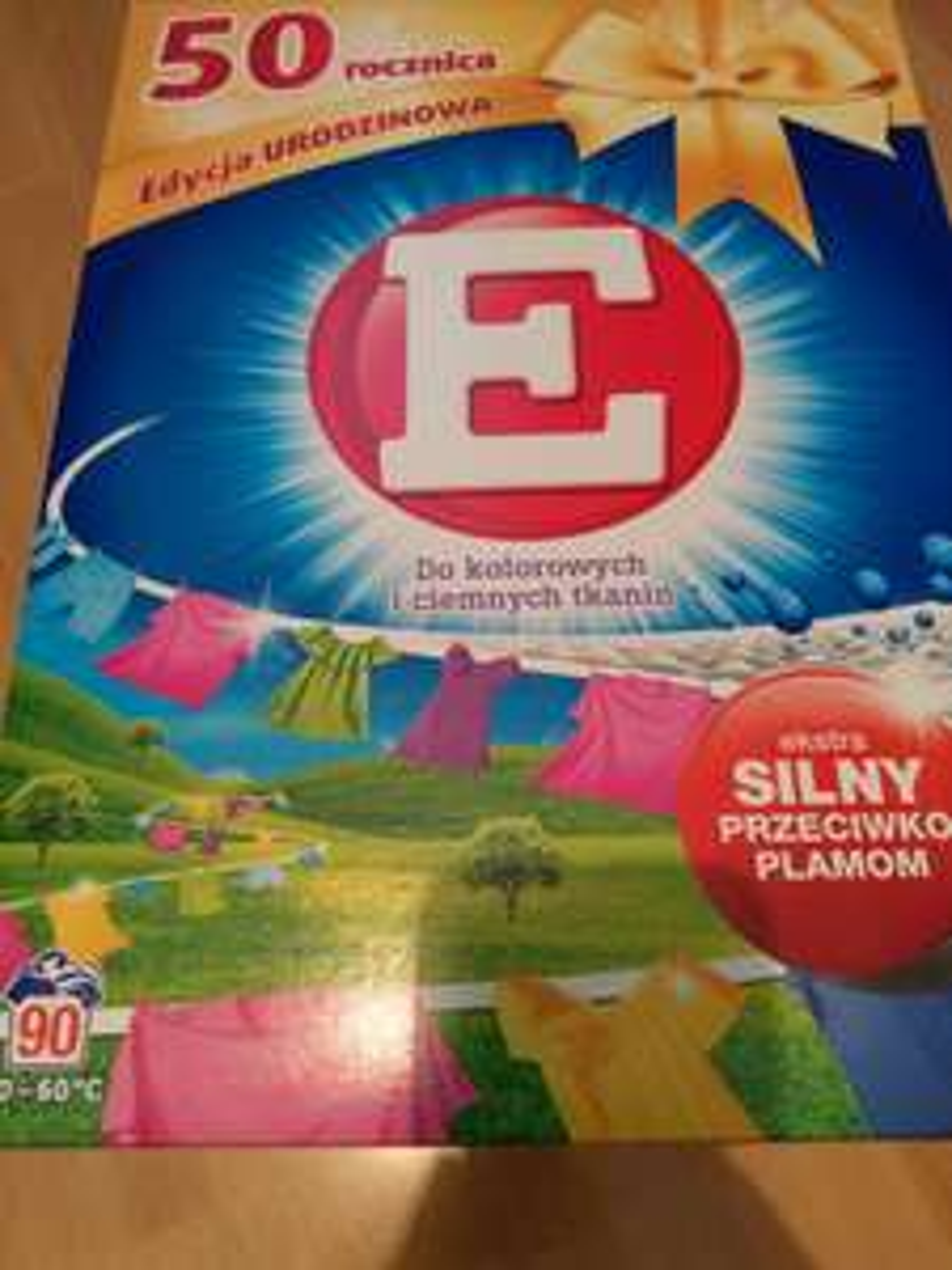 "Proszek do prania ""E"" Henkel 5.85kg kolor i ciemne tkaniny"