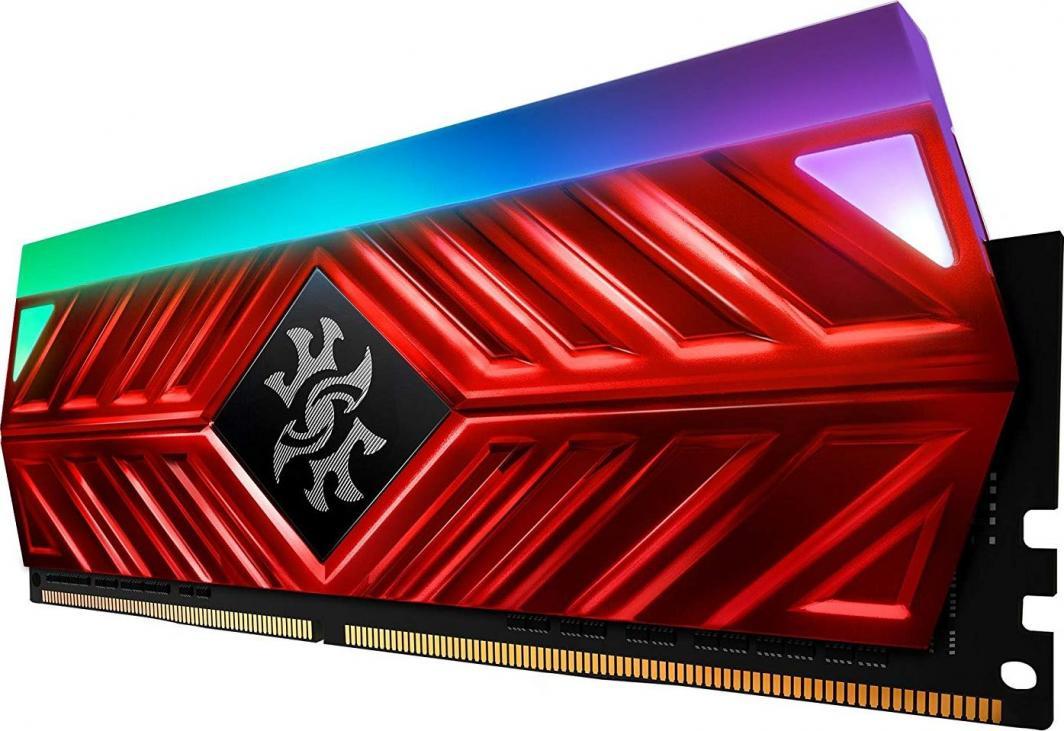 PAMIĘCI RAM Adata XPG Spectrix D41 DDR4 16GB (2 x 8GB) 3200 RED