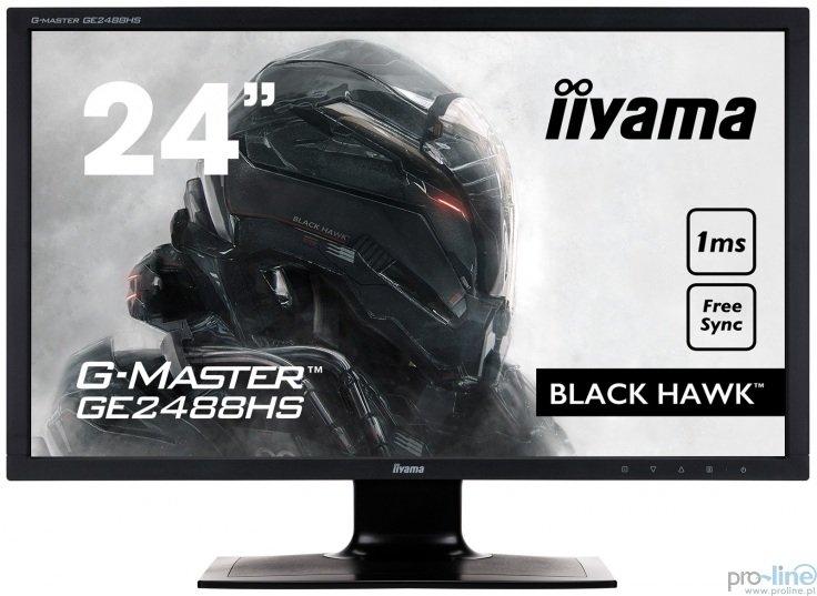 """Monitor iiyama G-Master GE2488HS-B2 Black Hawk 24"""" FHD 1ms"""