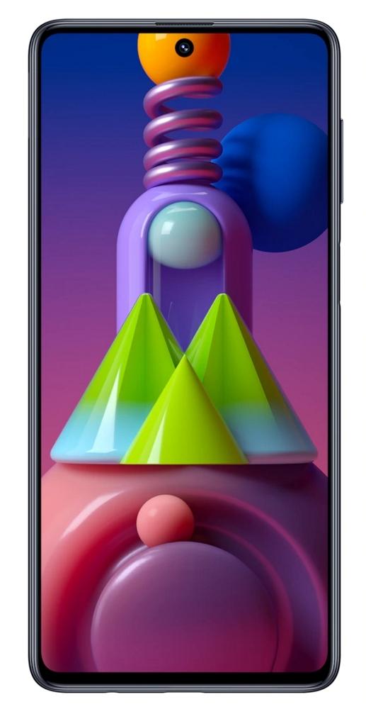 smartfon Samsung Galaxy M51 6/128 GB czarny + voucher 250 zł
