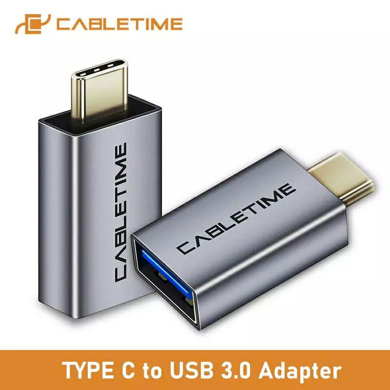Przejściówka CableTime z USB-C na USB 3.0