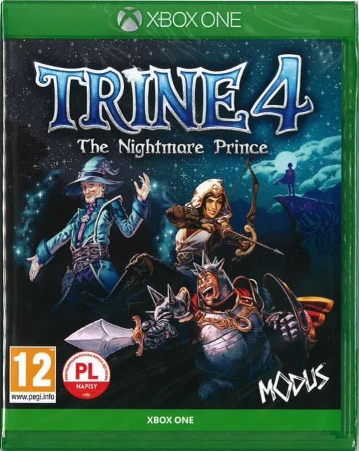 Trine 4 The Nightmare Prince PL XONE + 4 monety