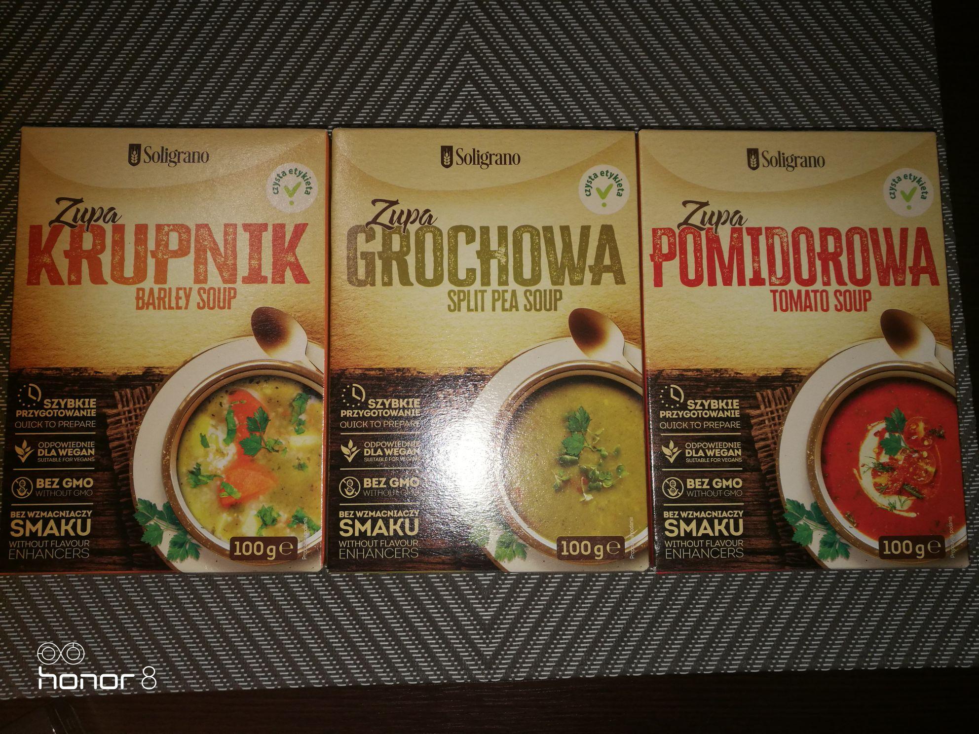 Zupy Soligrano - Wyprzedaż w Biedronce