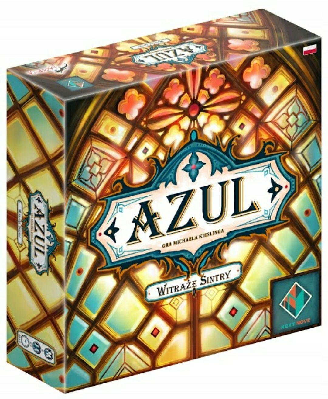 Azul Witraże Sintry - strategiczna gra planszowa