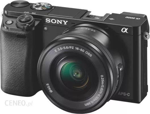 Aparat SONY Alpha A6000 (ILCE-6000) +16-50mm plus 100 zł na karcie podarunkowej