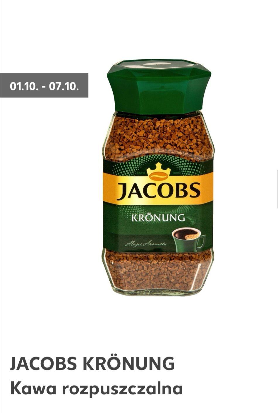 JACOBS KRÖNUNG Kawa rozpuszczalna 200 g opakowanie