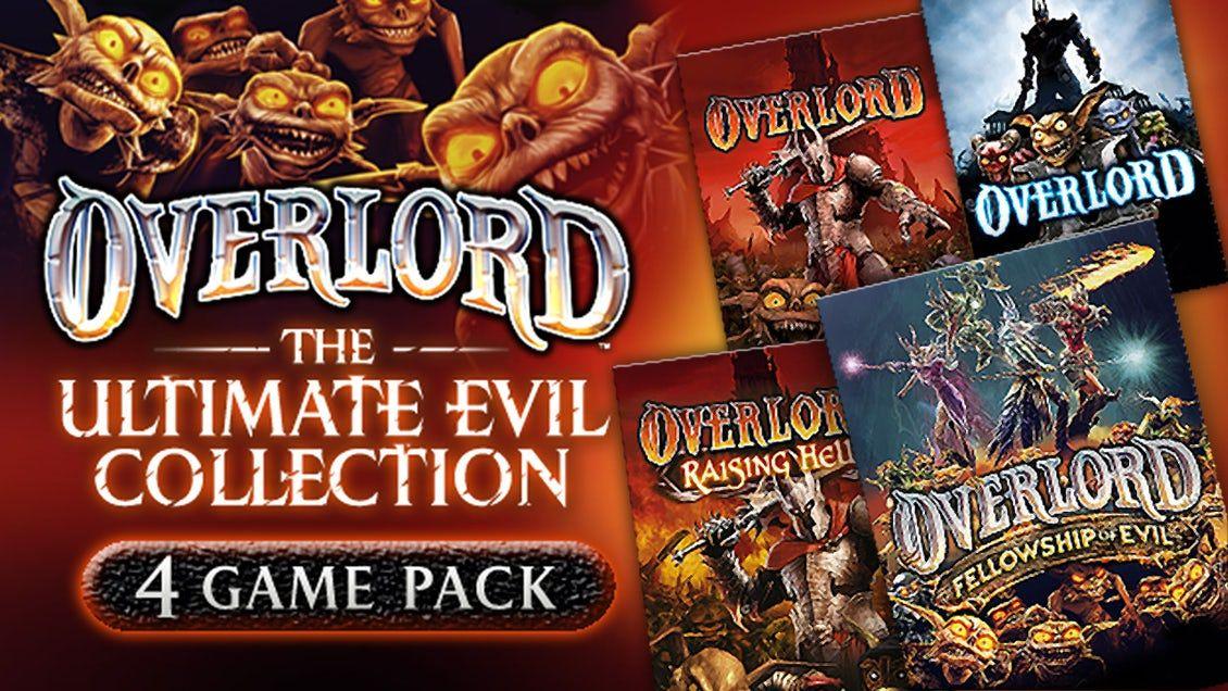 Overlord: Ultimate Evil Collection (3 gry + dodatek) za 0,89€ @Fanatical