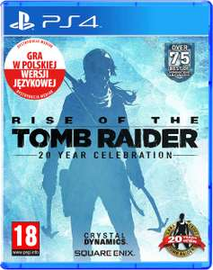 Rise Of The Tomb Raider 20 Lecie Dubbing PL PS4 VR