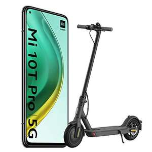 Smartfon Xiaomi Mi 10T Pro 8/256GB + hulajnoga Xiaomi Mijia Essential, Mi 10T + hulajnoga za 515 EUR