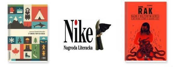 Nagroda Literacka Nike - promocja na książki