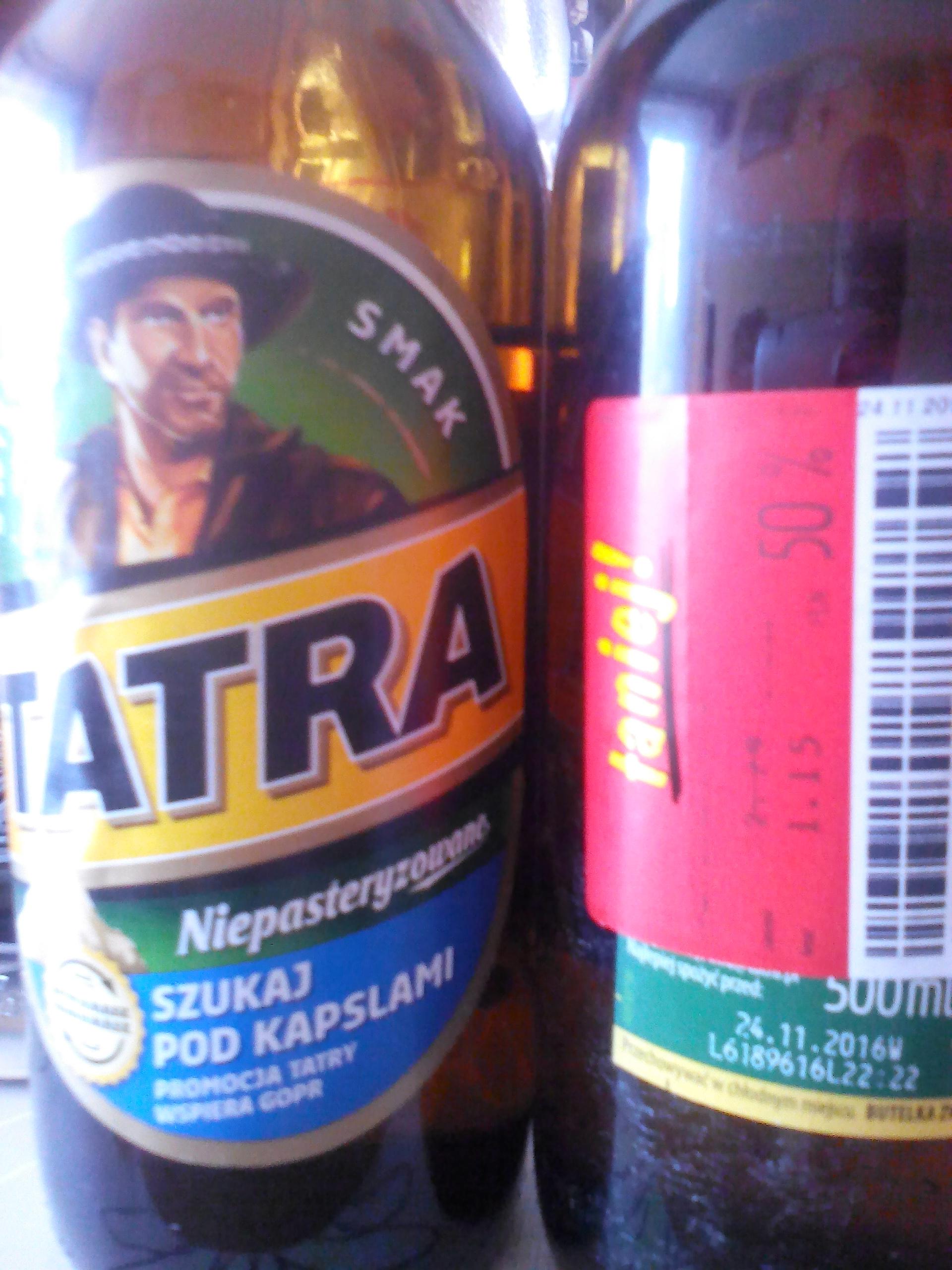 PIWO Tatra niepasteryzowane (Nysa)