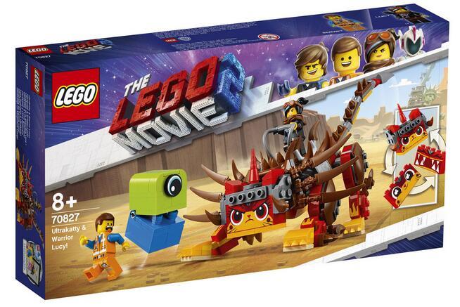 LEGO Movie 2 UltraKocia i Lucy Wojowniczka