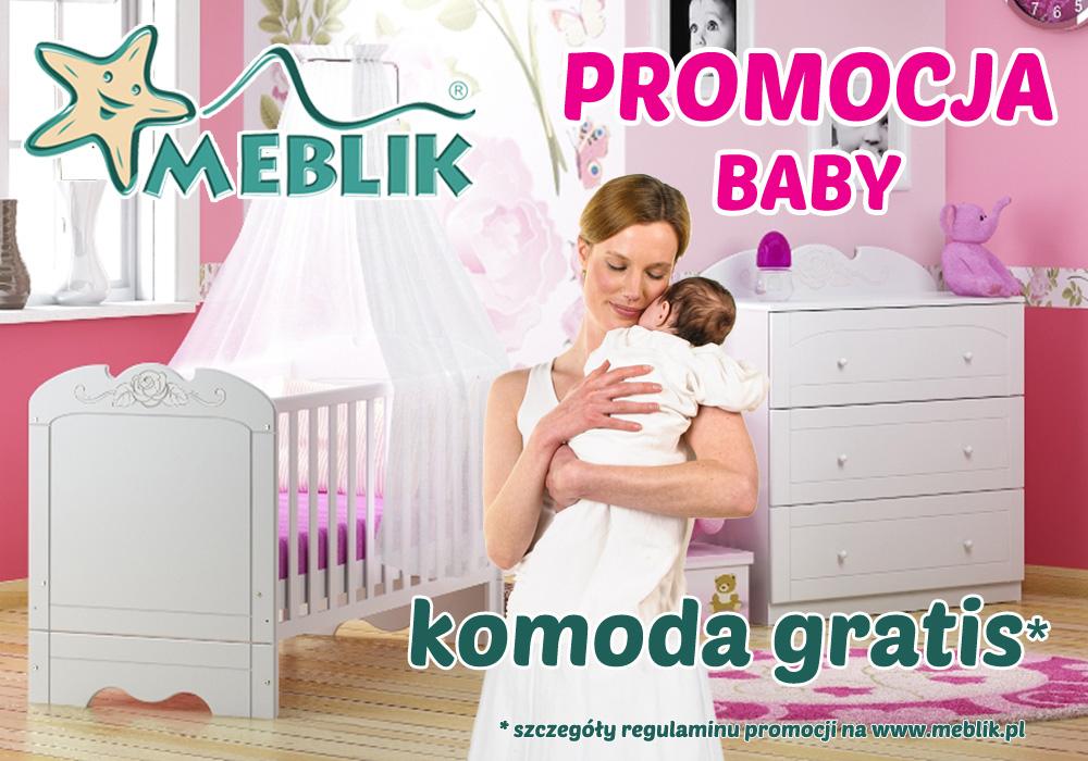 Komoda za 1zł przy zakupie zestawu mebli niemowlęcych @ Meblik
