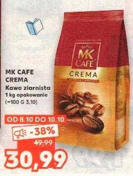 MK Cafe Crema kawa ziarnista 1 kg